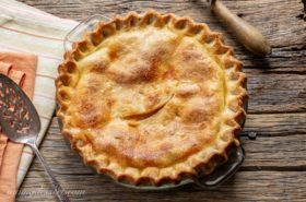 Old-Fashioned Fresh Peach Pie