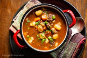 Hearty Beef and Gnocchi Soup Recipe