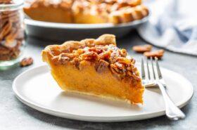 Praline Sweet Potato Pie Recipe
