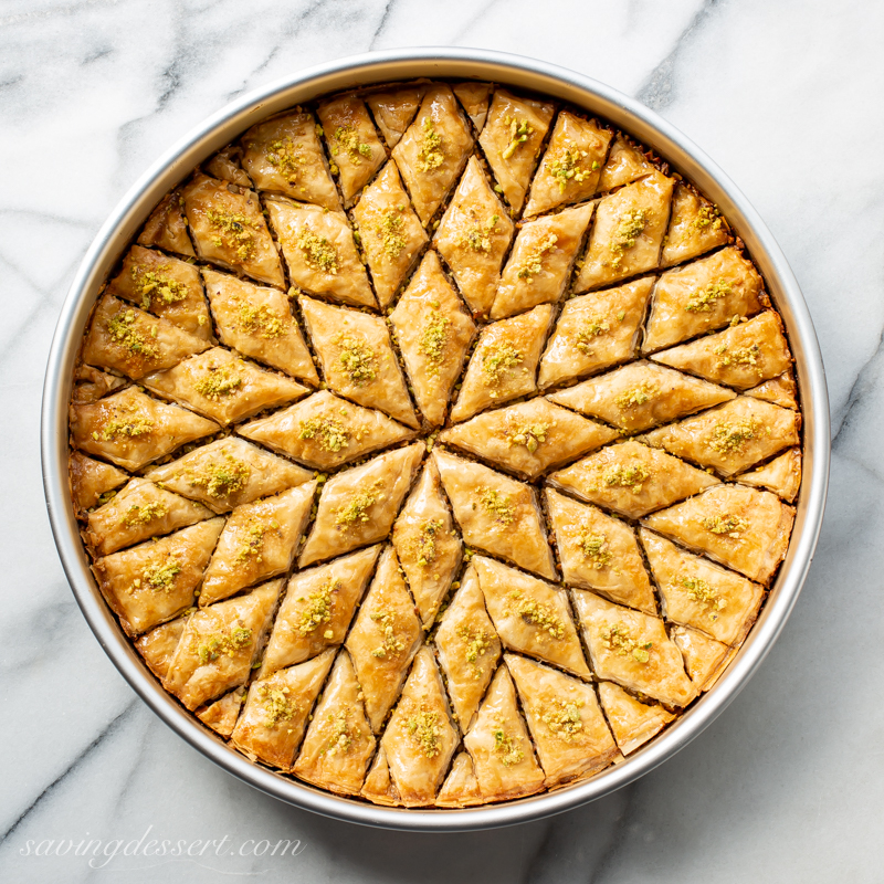 Honey Baklava Recipe Saving Room For Dessert