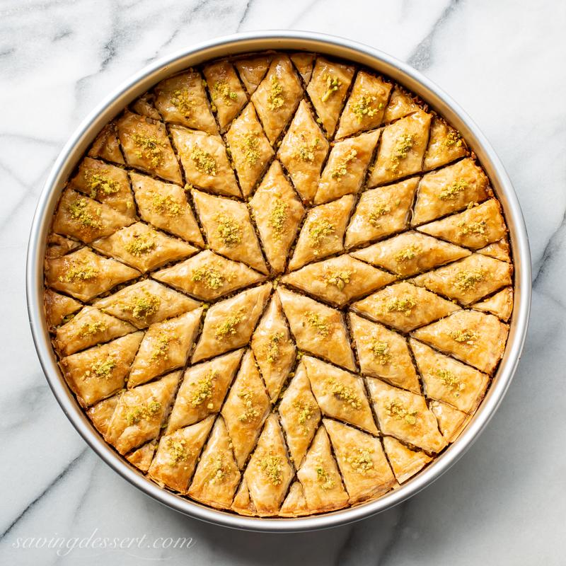 Honey Baklava Recipe Saving Room For Dessert