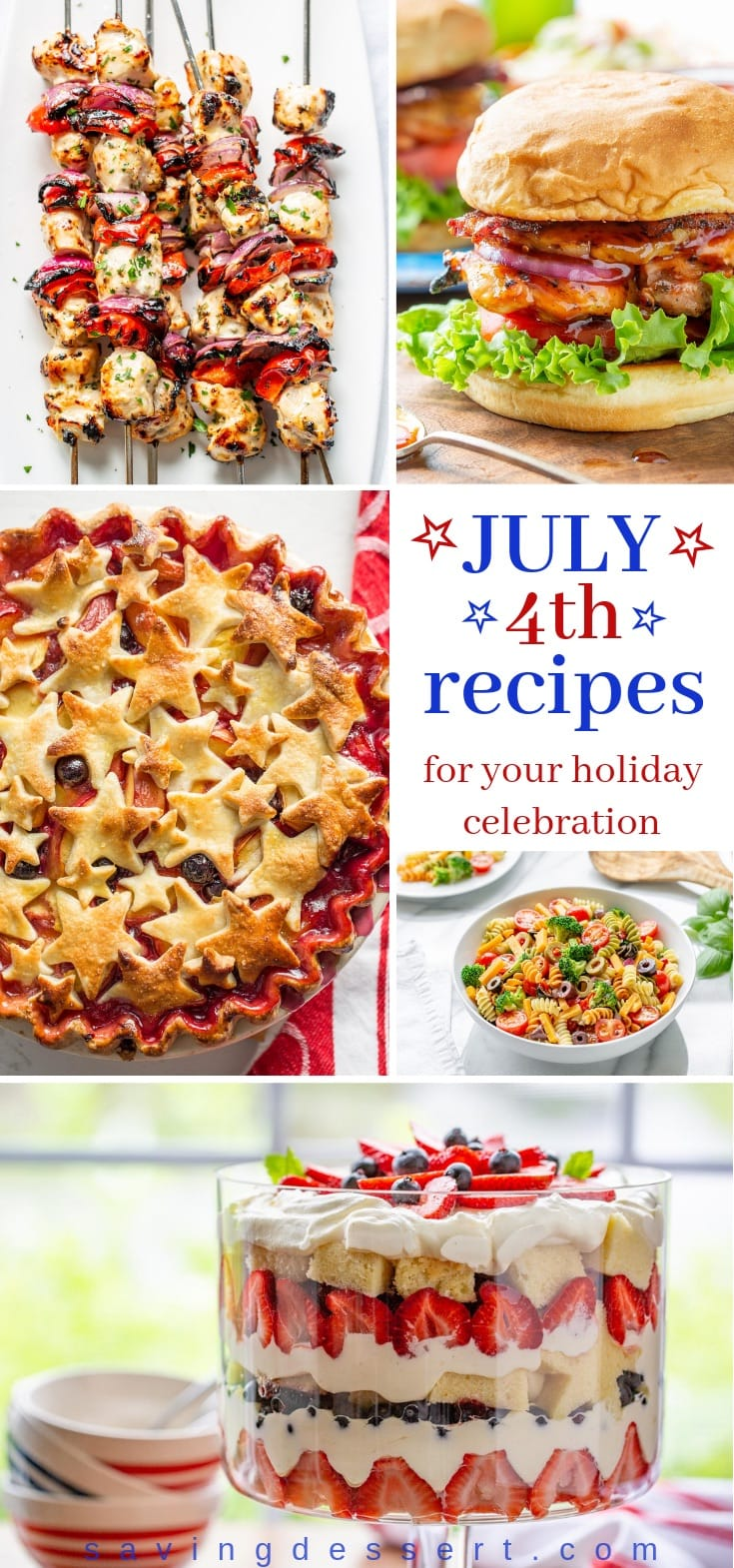 A roundup of photos and recipes perfect for the 4th of July