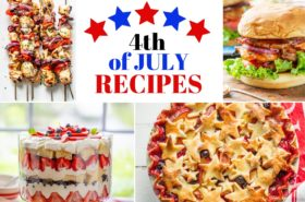 4th of July Recipes for your Celebration!