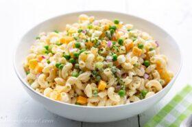 Southern Macaroni Salad Recipe