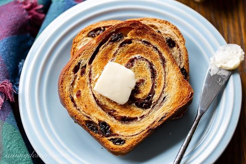 Cinnamon Swirl Bread Saving Room For Dessert