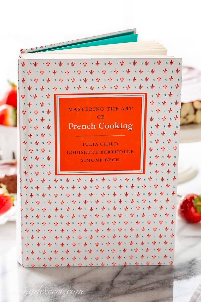 A photo of the cookbook: Mastering the Art of French Cooking