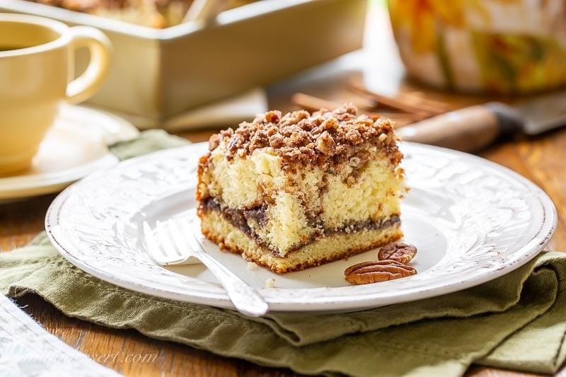 Sour Cream Coffee Cake Saving Room For Dessert
